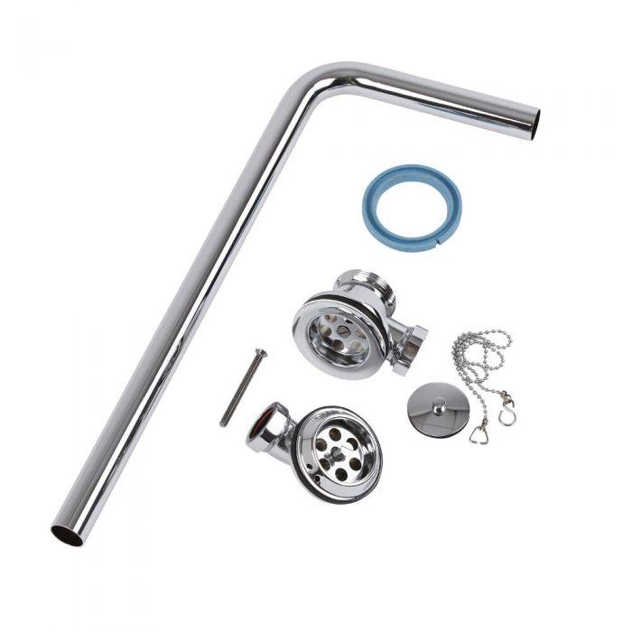 Válvula de Desagüe para Bañera con Rebosadero Expuesto