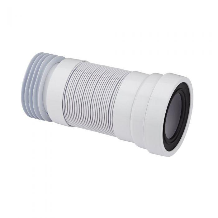 Manguito Recto Extensible para Inodoro WC a Suelo a Suelo Ø110mm Propileno McAlpine