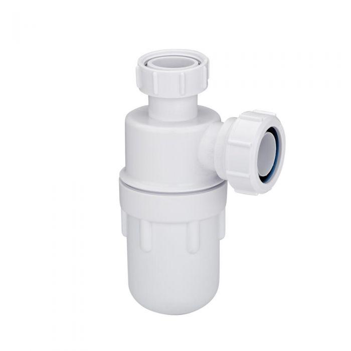 "Sifón Botella para Lavabo 75mm de 1"" ¼ Propileno Blanco McAlpine"