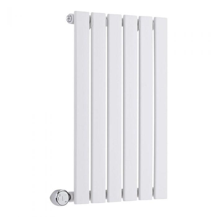 Radiador de Diseño Eléctrico Horizontal - Blanco - 635mm x 420mm x 46mm - Delta