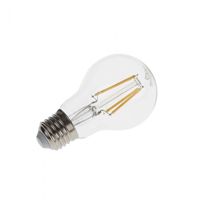 Bombilla LED E27 4W con Filamentos e Intensidad Luminosa Regulable
