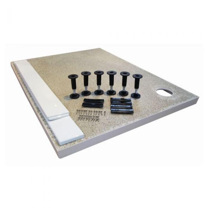 Estructura de elevación para platos de ducha rectangulares