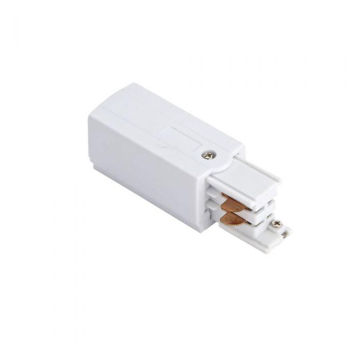 Conector de Alimentación Para Sistemas de 3 Circuitos. - Blanco