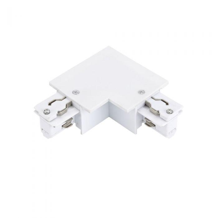 Conector de Alimentación L Para Sistemas de 3 Circuitos - Blanco