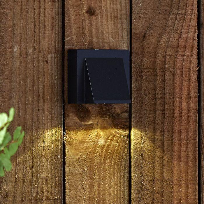 Apliqué de Pared Exterior Descendiente o Ascendiente LED 6W- Architect