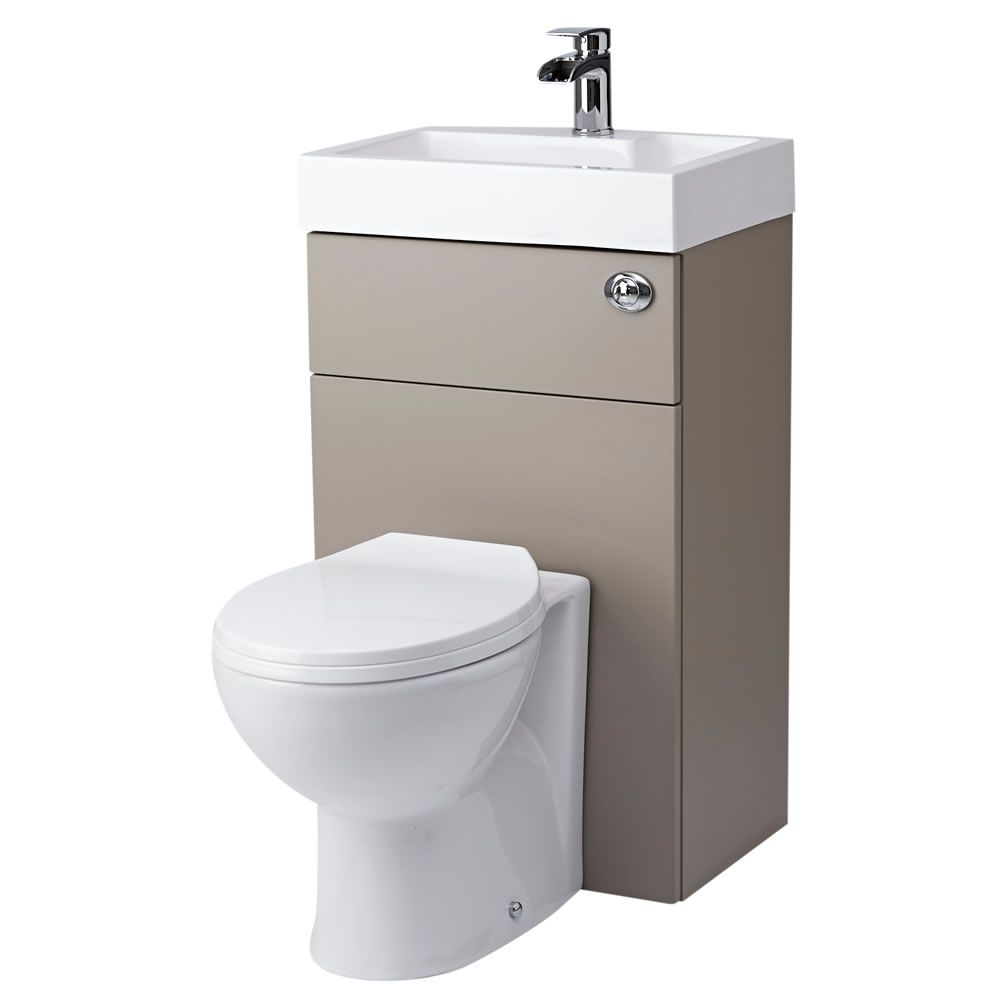 Inodoro con lavamanos integrado lavabo con wc integrado - Wc c olour grijze ...