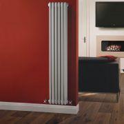 Radiador de Diseño Vertical Triple Tradicional - Blanco - 1500mm x 293mm x 100mm - 1041 Vatios - Regent
