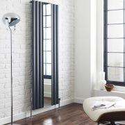 Radiador de Diseño Vertical - Antracita - 1800mm x 499mm x 55mm - 1030 Vatios - Revive