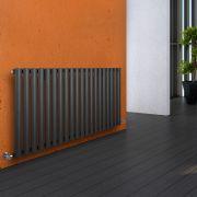 Radiador de Diseño Horizontal - Antracita - 635mm x 1180mm x 56mm - 1193 Vatios - Revive