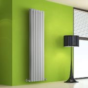 Radiador de Diseño Vertical Doble - Blanco - 1600mm x 420mm x 86mm - 1475 Vatios - Rombo