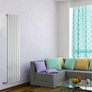 Radiador de Diseño Vertical - Blanco - 1600mm x 420mm x 47mm - 879 Vatios - Delta
