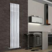 Radiador de Diseño Vertical - Cromado - 1800mm x 450mm x 50mm - 668 Vatios - Delta