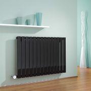 Radiador de Diseño Eléctrico Horizontal - Negro - 635mm x 980mm x 46mm - Delta