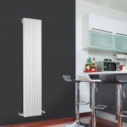 Radiador de Diseño Vertical - Blanco - 1600mm x 342mm x 84mm - 1052 Vatios - Fin