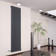 Radiador de Diseño Vertical - Antracita - 1780mm x 472mm x 81mm - 1391 Vatios - Savy