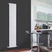Radiador de Diseño Vertical - Blanco - 1780mm x 354mm x 53mm - 896 Vatios - Sloane