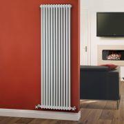 Radiador de Diseño Vertical Doble Tradicional - Blanco - 1800mm x 560mm x 70mm - 1867 Vatios - Regent