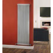 Radiador de Diseño Vertical Triple Tradicional - Blanco - 1800mm x 563mm x 100mm - 2338 Vatios - Regent