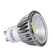 Foco LED COB GU10 5W Ángulo de 90° Equivalente a 50W Intensidad Luminosa Regulable