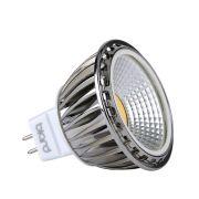 Foco LED COB MR16 5W Ángulo de 60° Equivalente a 50W