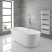 Bañera Exenta Oval Moderna 1800 x 750 x 580mm - Clovelly