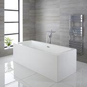 Bañera Exenta Cuadrada Moderna 1785 x 790 x 580mm - Haldon