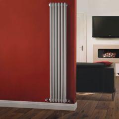 Radiador de Diseño Vertical Triple Tradicional - Blanco - 1800mm x 293mm x 100mm - 1168 Vatios - Regent