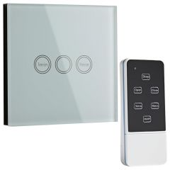 Interruptor de Diseño de Pared con Mando de Control
