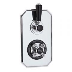 Mezclador de Ducha Termostático Empotrable Tradicional de Dos Funciones - Topaz