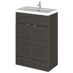 Mueble de Lavabo Negro de 600 x 355mm