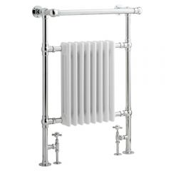 Radiador Toallero Tradicional - Blanco - 930mm x 620mm x 219mm - 699 Vatios - Marquesa