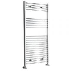Radiador Toallero Curvo - Cromado - 1200mm x 600mm x 46mm - 436 Vatios - Ladder