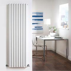 Radiador de Diseño Vertical Doble - Blanco - 1780mm x 472mm x 78mm - 1868 Vatios - Revive