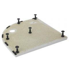 Estructuras de elevación LEGE para platos de ducha comenzando por códigos NTP-QUAD