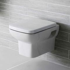 Inodoro WC de Pared con Tapa