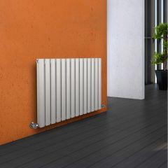 Radiador de Diseño Horizontal Doble - Blanco - 635mm x 834mm x 78mm - 1304 Vatios - Revive