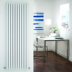 Radiador de Diseño Vertical Doble - Blanco - 1780mm x 590mm x 78mm - 2335 Vatios - Revive