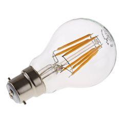 Bombilla LED B22 con Filamentos 6W