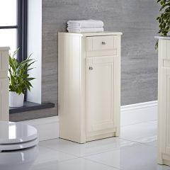 Mueble de Baño Tradicional Color Marfil 400mm con Espejo - Charlton