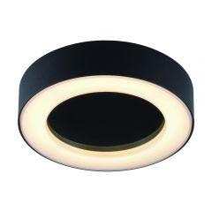 Plafón de Techo Circular Negro para Espacios Interiores 13W - Orel