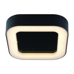 Plafón de Techo Cuadrado Negro para Espacios Interiores 13W - Orel