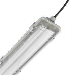 Regleta LED IP65 1566 x 118 x 83mm con 2 Tubos LED 44W