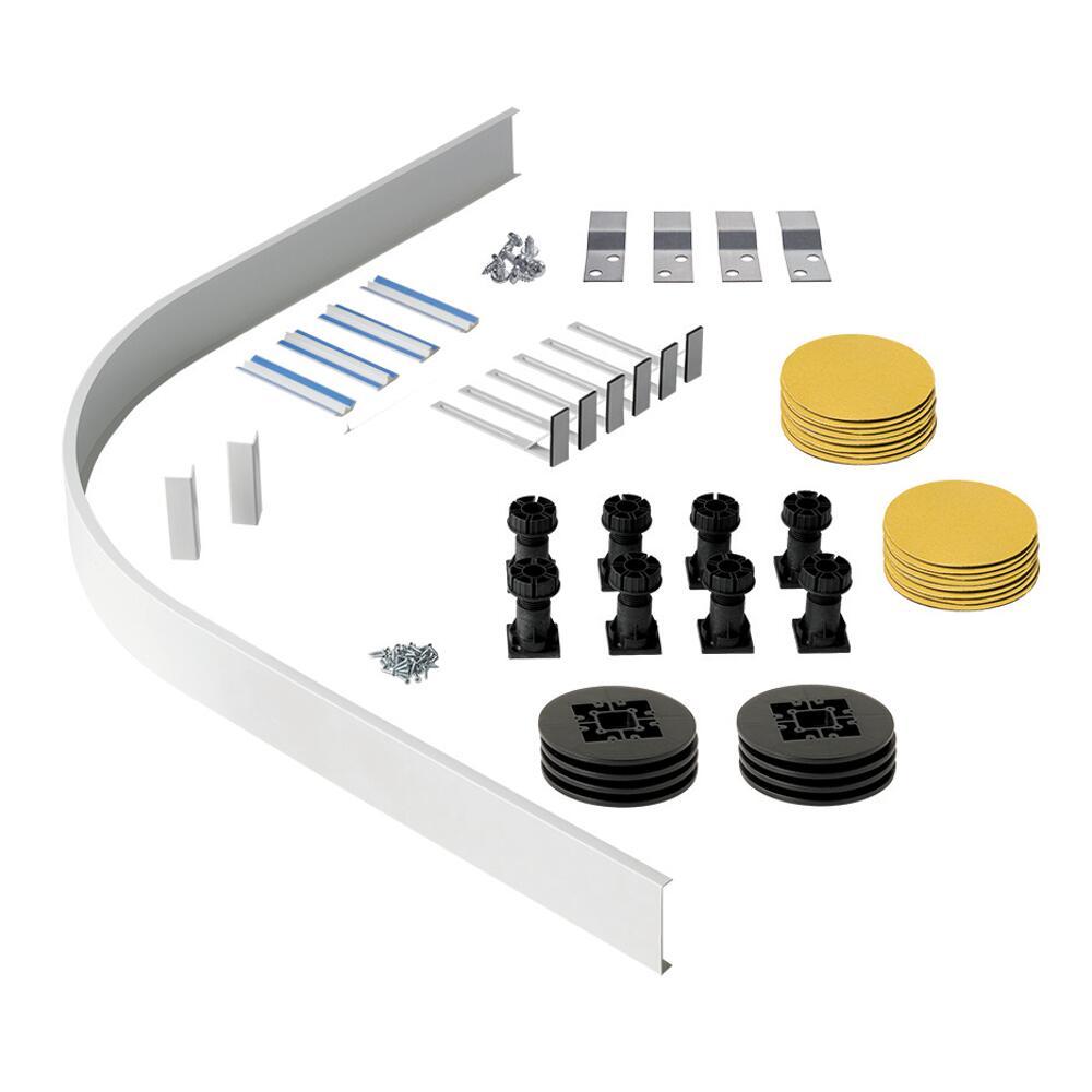 Estructura de Elevación para Platos de Ducha Angulares y Semicirculares