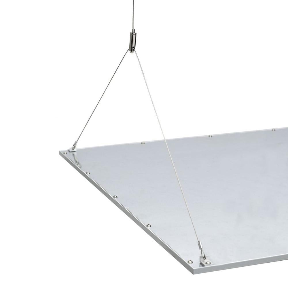 Biard Estructura para Paneles LED de Techo 1200mm con Cables de Acero