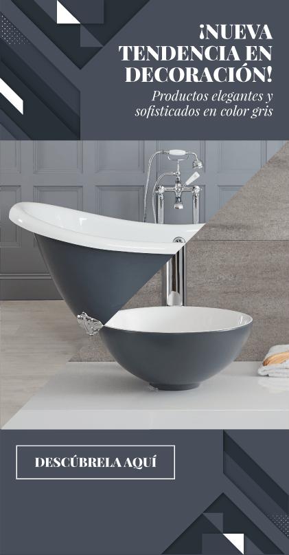 Productos elegantes y sofisticados en color gris