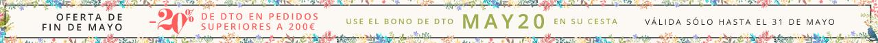 -20% de Dto en pedidos superiores a 200€