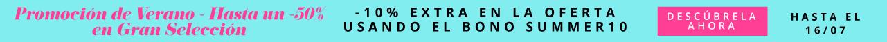 Promoción de Verano Sub Hasta un -50% en Gran Selección  -10% Extra en la Oferta usando el Bono SUMMER10